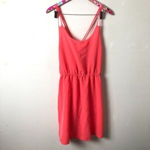 NWT Forever 21 coral dress size L // F25